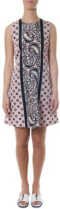 RED Valentino Short Flowers Printed Dress