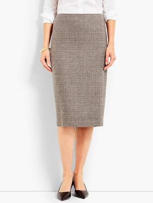 Talbots Luxe Tweed Pencil Skirt