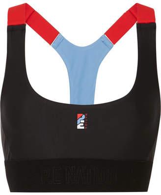 P.E Nation The Forecourt Stretch Sports Bra - Black