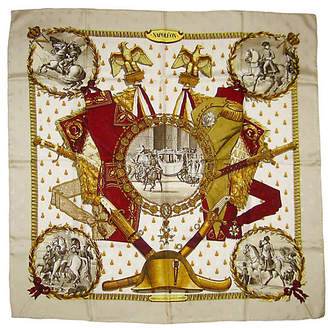 One Kings Lane Vintage Hermès Napoleon Scarf - Original Issue
