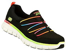"Skechers Sport ""Loving Life"" Casual Sneaker - Black Multi"