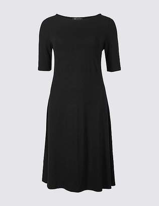 Marks and Spencer Jersey Half Sleeve Swing Dress