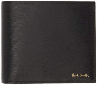 Paul Smith Black Metal Camouflage Bifold Wallet