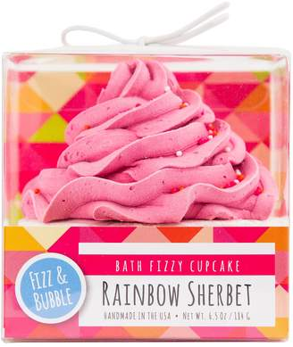 Fizz & Bubble Rainbow Sherbet Bath Fizzy Cupcake