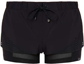 Koral League Double Layer Laser Cut Detail Shorts