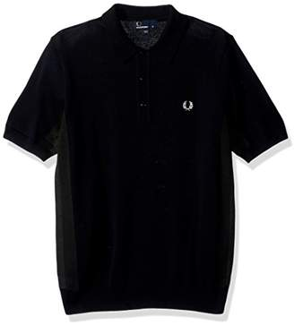 Fred Perry Men's Striped Panelled Sports Shirt