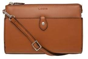 Lodis Audrey Under Lock and Key RFID Vicky Leather Convertible Crossbody Clutch