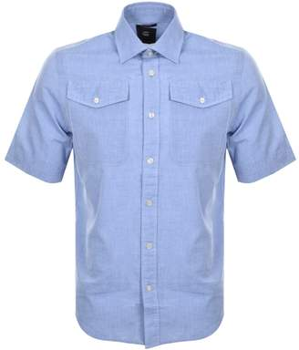 G Star Raw Bristum Utility Shirt Blue