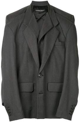 Y/Project Y / Project double tailored jacket