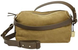 Skagen Ronne Leather Satchel $245 thestylecure.com