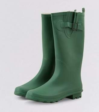 New Look Green Welly Boots