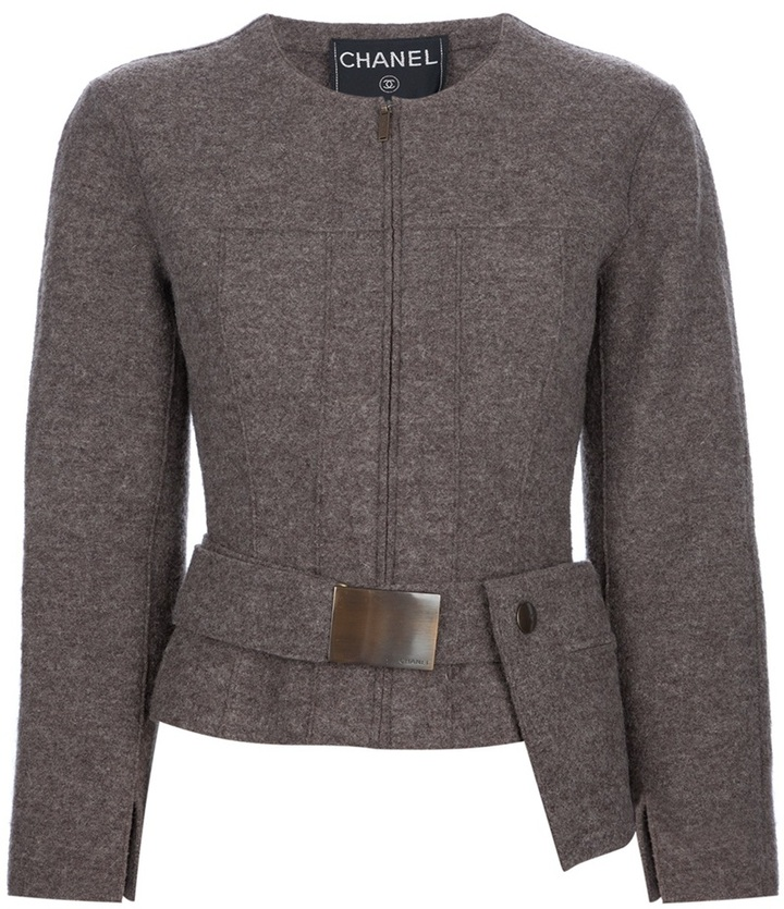 Chanel cropped jacket