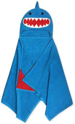 Jay Franco Kids' Shark Cotton Terry Hooded Towel