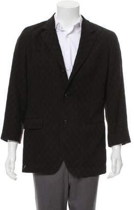 Dolce & Gabbana Woven Three-Button Blazer