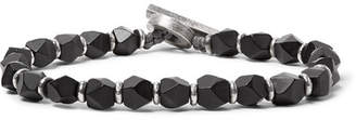 M. Cohen Onyx And Sterling Silver Bracelet