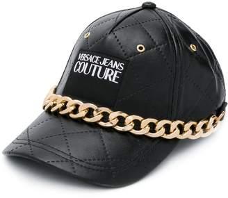Versace chain trim cap