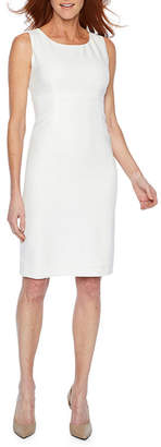 Evan Picone BLACK LABEL BY EVAN-PICONE Black Label by Evan-Picone Sleeveless Sheath Dress