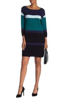 Joan Vass Bold Stripe Dress