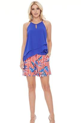 Aryeh Tropical Scarlet Shorts