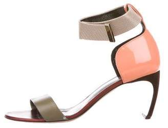 Nicholas Kirkwood Leather Ankle-Strap Sandals