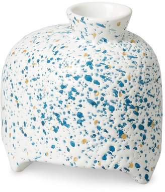 Oliver Bonas Blue Splatter Ceramic Diffuser Vessel