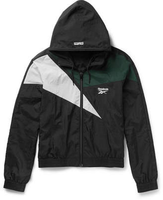 Vetements + Reebok Shell Hooded Jacket $1,070 thestylecure.com