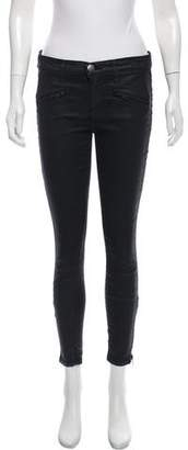 Current/Elliott Mid-Rise Skinny Pants