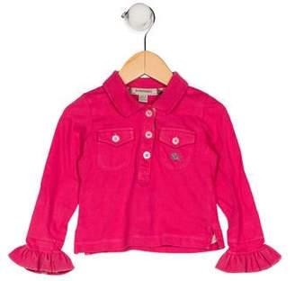Burberry Girls' Wool-Blend Skirt