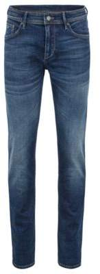 BOSS Hugo Extra-slim-fit jeans in Italian super-stretch denim 33/32 Blue