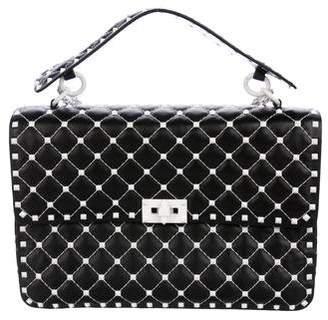 Valentino 2018 Free Rockstud Spike Large Chain Bag