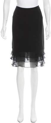Carmen Marc Valvo Knee-Length Skirt w/ Tags
