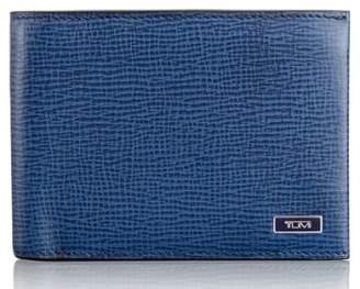 Tumi Monaco Double Billfold Leather Wallet