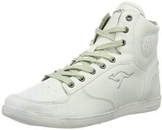 KangaROOS Women 3596A Hi-Top Trainers White Size  41 0260f249e72