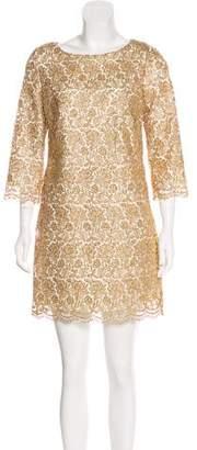 Milly Metallic Mini Dress w/ Tags