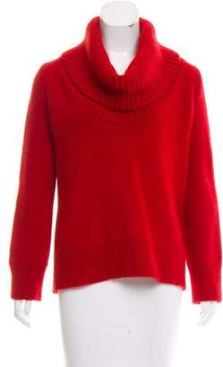 Alexander McQueen Long Sleeve Wool Turtleneck