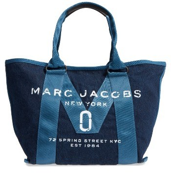 Marc JacobsMarc Jacobs New Logo Denim Tote - Blue