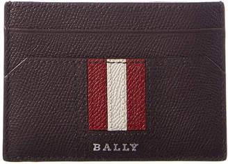 Bally Taclipo Leather Business Card Case
