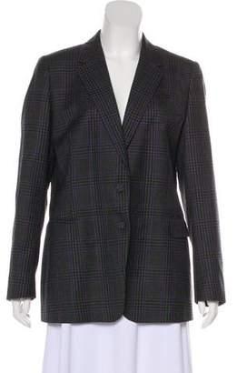 Dries Van Noten Wool Check Blazer