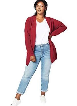 Zizzi Women's Mcuba, L/s Cardigan,(Size: 46/48)