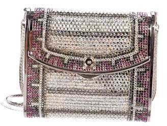 Judith Leiber Mini Crystal-Embellished Crossbody Bag