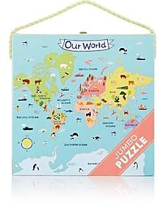 Mudpuppy Our World Jumbo Puzzle