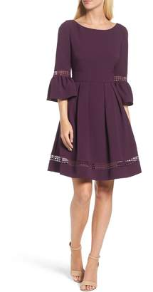 Eliza J Bell Sleeve Dress