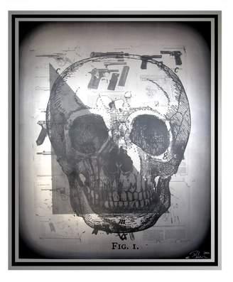 Skull Art by Peter Tunney