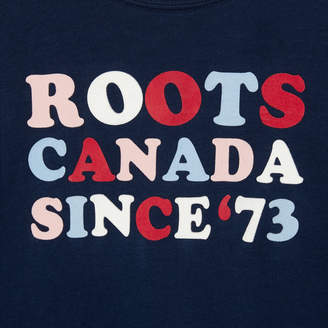 Roots Girls Classic Camp T-shirt