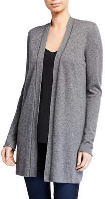 Neiman Marcus Cashmere Cardigan with Chain Trim