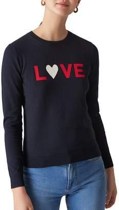 Whistles Intarsia Love Sweater