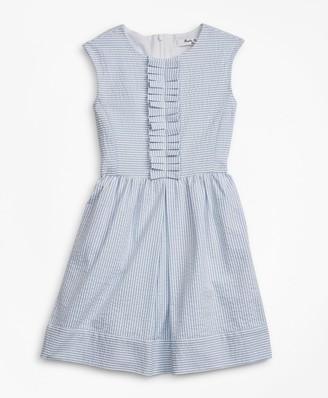 Brooks Brothers Girls Seersucker Dress