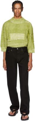 Bless Black Levis Edition Pleatfront Jeans