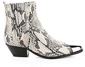 Schutz Women's Luccyen Leather Western Boots