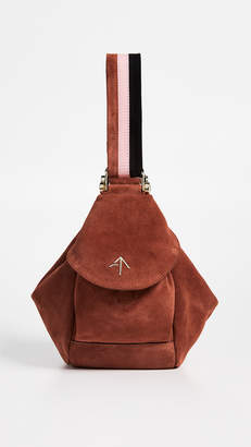 Atelier MANU Suede Micro Fernweh Convertible Bag